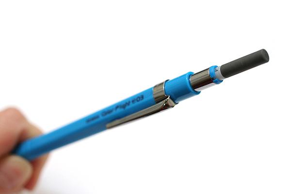 Zebra Color Flight 0.3 Mechanical Pencil - 0.3 mm - Sky Blue - ZEBRA MAS53-SBL