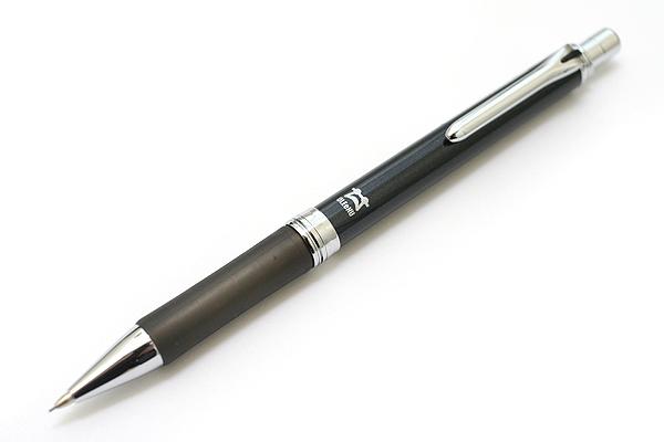 Platinum OLEeNu High Grade Lead Breakage Prevention Mechanical Pencil - 0.5 mm - Black Body - PLATINUM MOL-1000 1
