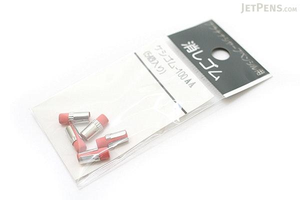 Platinum Mechanical Pencil Eraser Refill - Size AA - Pack of 5 - PLATINUM KESHIGOMU-100AA