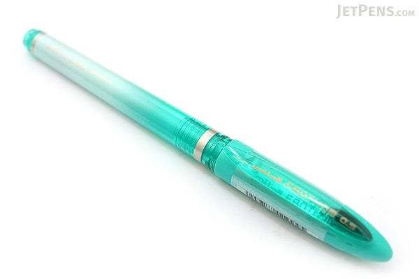 Uni Fanthom Erasable Gel Pen - 0.5 mm - Green - UNI UF20205.6