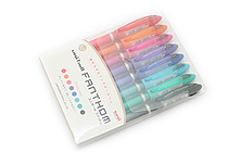 Uni Fanthom Erasable Gel Pen - 0.5 mm - 8 Color Pack - UNI UF202058C