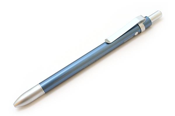 A.G. Spalding & Bros Aluminum Body 2 Function Multi Pen - 0.7 mm Black Ballpoint Pen + Stylus - Blue Body - RAYMAY BRPB701 A