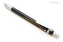A.G. Spalding & Bros Aluminum Body 2 Function Multi Pen - 0.7 mm Black Ballpoint Pen + Stylus - Black Body - RAYMAY BRPB701 B
