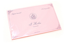 J. Herbin Rocker Style Wooden Ink Blotter - Blotter Sheets - Pink - Pack of 10 - J. HERBIN H255-60