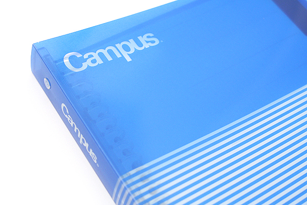 Kokuyo Campus Slide Binder - B5 - 26 Rings - Blue - Bundle of 3 - KOKUYO RU-P334B BUNDLE