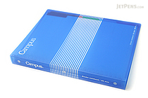 Kokuyo Campus Slide Binder - B5 - 26 Rings - Blue - KOKUYO RU-P334B
