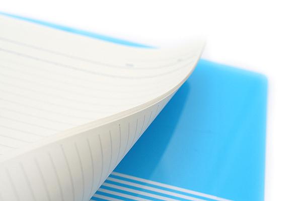 Kokuyo Campus Slide Binder - B5 - 26 Rings - Light Blue - Bundle of 3 - KOKUYO RU-P334LB BUNDLE