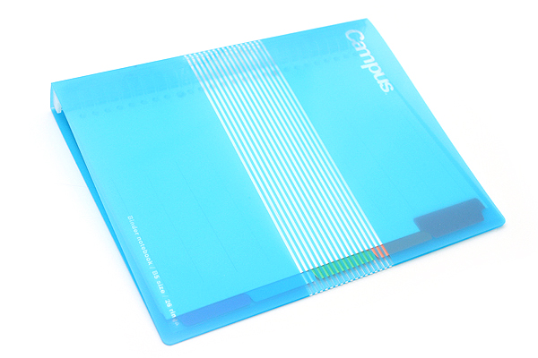 Kokuyo Campus Slide Binder - B5 - 26 Rings - Light Blue - KOKUYO RU-P334LB