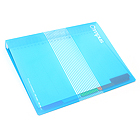 Kokuyo Campus Slide Binder - B5 - 26 Rings - Light Blue