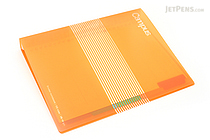 Kokuyo Campus Slide Binder - B5 - 26 Rings - Orange - KOKUYO RU-P334YR