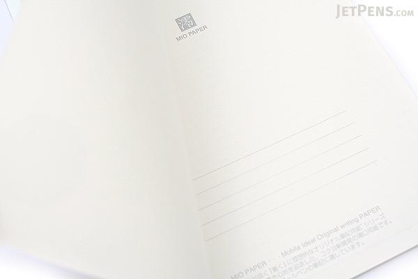 "Kokuyo Campus High Grade MIO Paper Notebook - B5 (9.9"" X 7"") - 6 mm Rule - 35 Lines X 30 Sheets - Blue Accents - Bundle of 5 - KOKUYO NO-GG3B BUNDLE"