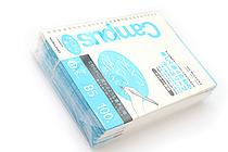 Kokuyo Campus Loose Leaf Paper - Sarasara - B5 - Dotted 6 mm Rule - 26 Holes - 100 Sheets - Bundle of 5 - KOKUYO NO-836BT BUNDLE