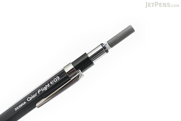 Zebra Color Flight 0.3 Mechanical Pencil - 0.3 mm - Black - ZEBRA MAS53-BK