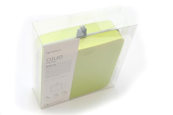 Metaphys Ojue Lunch Box - With Chopsticks - Green - METAPHYS 63010-GR