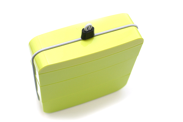 Metaphys Ojue Lunch Box - With Chopsticks - Green - METAPHYS 63010-GR
