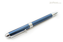 Platinum MWB-1000C 2 Color 0.7 mm Ballpoint Multi Pen + 0.5 mm Pencil - Blue Body - PLATINUM MWB-1000C 56