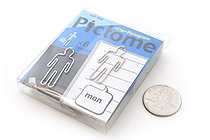 Sun-Star Pictome Paper Clip - Man - Pack of 8 - SUN-STAR S3609383