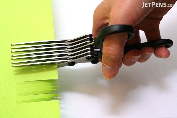 Sun-Star 7-Blade Shredder Scissors - 170 mm - Black - SUN-STAR S3711471