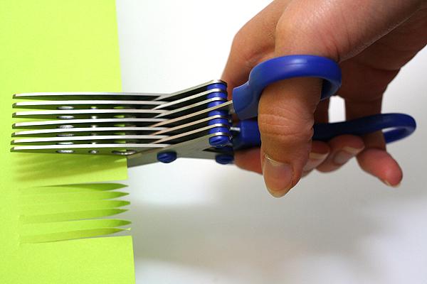 Sun-Star 7-Blade Shredder Scissors - 170 mm - Blue - SUN-STAR S3711480