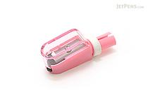 Sun-Star 2Way Pencil Cap + Sharpener - Pink - SUN-STAR S5033810
