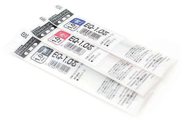 Zebra EQ Surari Emulsion Ink Pen Refill - 1.0 mm - Red - ZEBRA REQ10-R