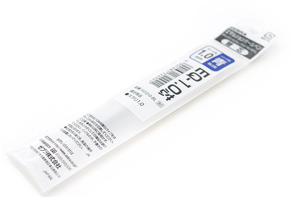 Zebra EQ Surari Emulsion Ink Pen Refill - 1.0 mm - Blue - ZEBRA REQ10-BL