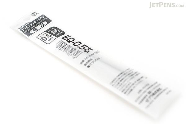 Zebra EQ Surari Emulsion Ink Pen Refill - 0.5 mm - Black - ZEBRA REQ5-BK