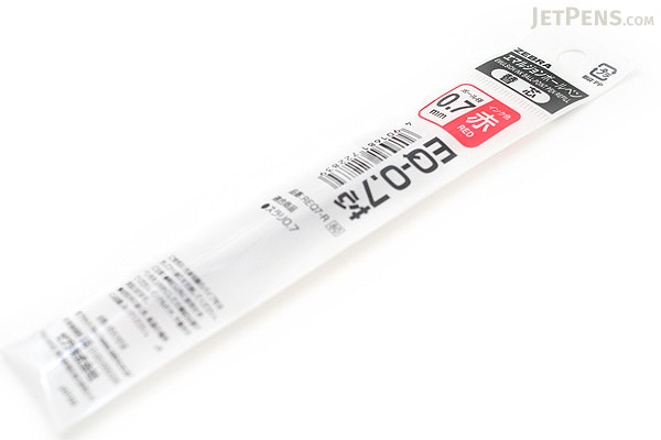 Zebra EQ Surari Emulsion Ink Pen Refill - 0.7 mm - Red - ZEBRA REQ7-R