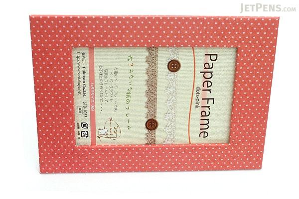 Fukusan Deco Craft Embossing Paper Kit + Paper Frame - Cotton Fish - FUKUSAN SFD-1039