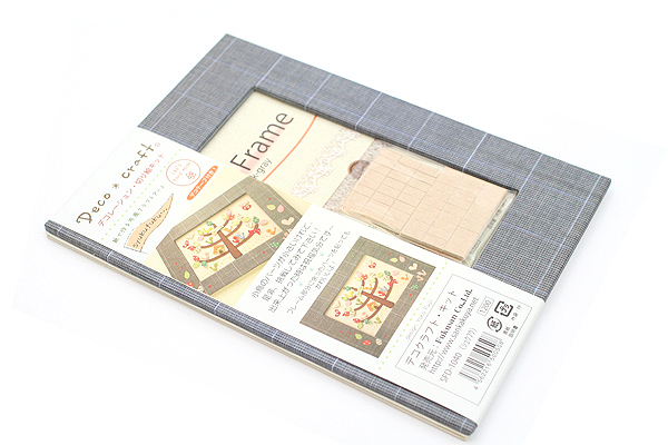 Fukusan Deco Craft Embossing Paper Kit + Paper  Frame - Blessings - FUKUSAN SFD-1040