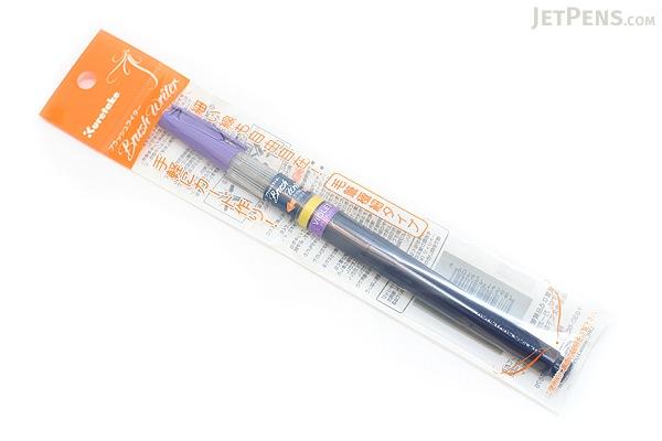 Kuretake Brush Writer Blendable Color Brush Pen - Violet Purple - KURETAKE KM50F-CB-80