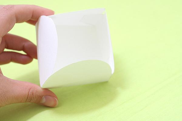 Kuretake Gift Box Template - Heart & Swirl - KURETAKE SBTP208-22