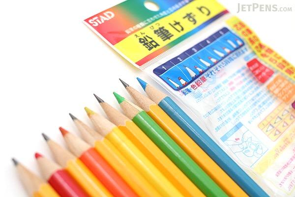 Kutsuwa Stad WK'Zool Multi Wooden & Color Pencil Sharpener - KUTSUWA RS012BL