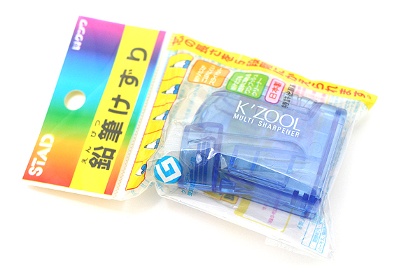 Kutsuwa Stad K'Zool Multi Pencil Sharpener - Blue - KUTSUWA RS007BL