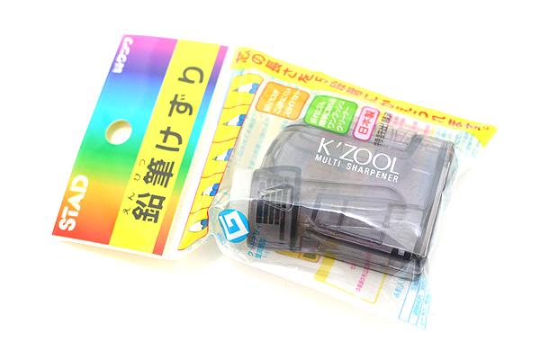 Kutsuwa Stad K'Zool Multi Pencil Sharpener - Black - KUTSUWA RS007BK