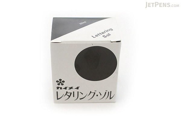 Kaimei Lettering Pen Ink - 30 ml Bottle - KAIMEI SE-0021