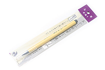 Akashiya New Fude Disposable Brush Pen - Gray - AKASHIYA SG-300