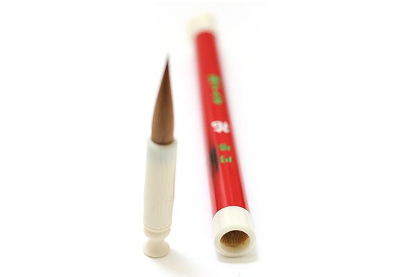 Akashiya Pocket Brush Pen - Round Tower - Flower - AKASHIYA PBRT F