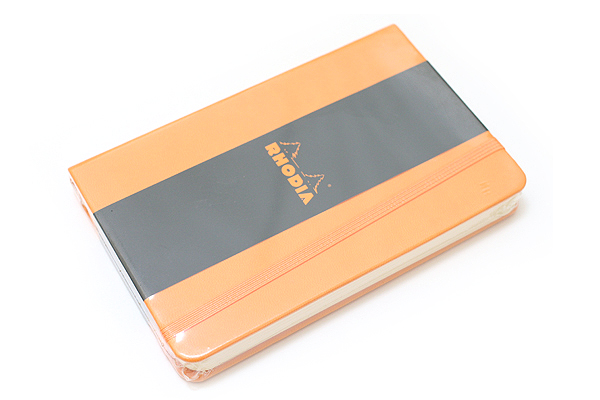 "Rhodia Webnotebook - 3.5"" x 5.5"" - Blank - Orange - RHODIA 118078"