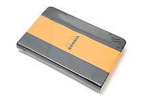 "Rhodia Webnotebook - 3.5"" x 5.5"" - Blank - Black - RHODIA 118079"