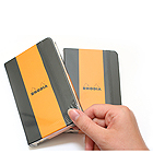 Rhodia Webnotebook + Pocket + Elastic Closure - Blank - Bundle of 2