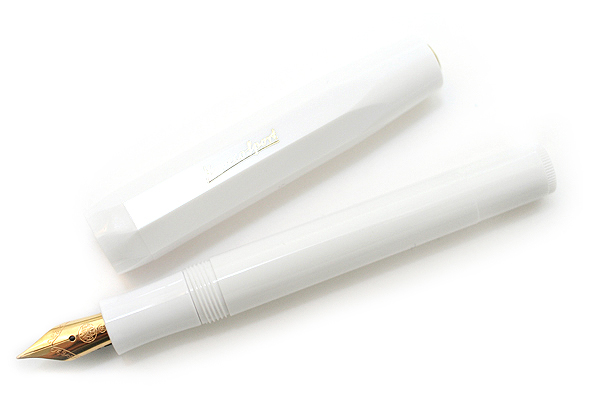 Kaweco Classic Sport Fountain Pen - Fine Nib - White Body - KAWECO 10000006