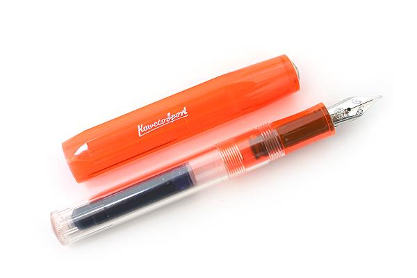 Kaweco Ice Sport Fountain Pen - Fine Nib - Orange Body - KAWECO 10000077