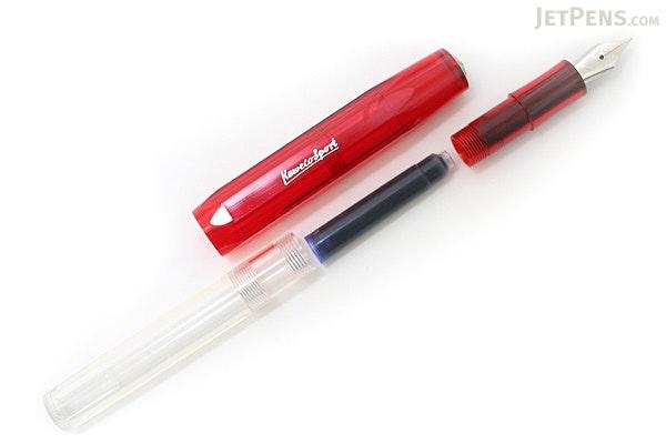 Kaweco Ice Sport Fountain Pen - Red - Fine Nib - KAWECO 10000072