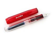 Kaweco Ice Sport Fountain Pen - Fine Nib - Red Body - KAWECO 10000072