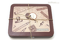 Kodomo no Kao Margaret Rubber Stamp - 18 Piece Set - Pencil - KODOMO 0831-008