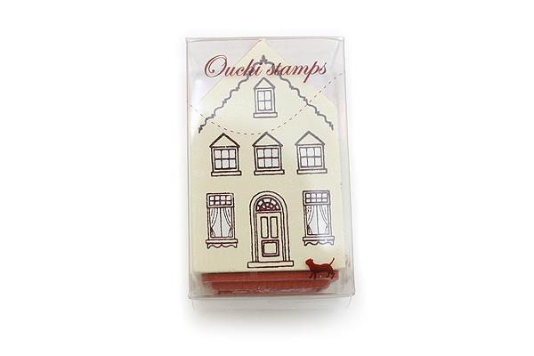 Kodomo no Kao Ouchi Miniature House Rubber Stamp - Ciao (Poodle) - KODOMO 0734-006