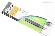 Zebra JF-Refill Gel Pen Refill - 0.7 mm - Black - Pack of 2 - ZEBRA 87012