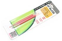 Zebra JF-Refill Gel Pen Refill - 0.7 mm - Red - Pack of 2 - ZEBRA 87032