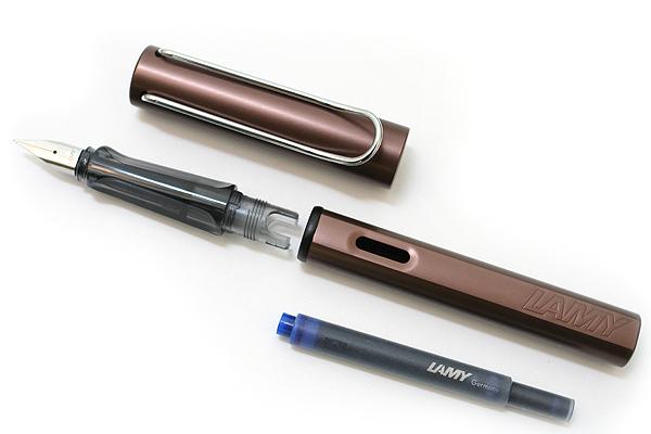 Lamy Fountain Pen - Al-Star Model - Extra Fine Nib - Coffee Brown Body - LAMY L22CEF